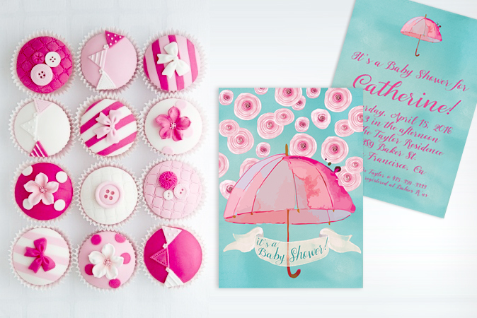 The Catherine Baby Shower Invitations