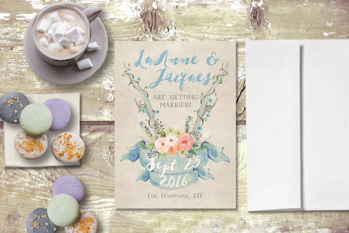 The Roche Shop Bridal shower Invitations