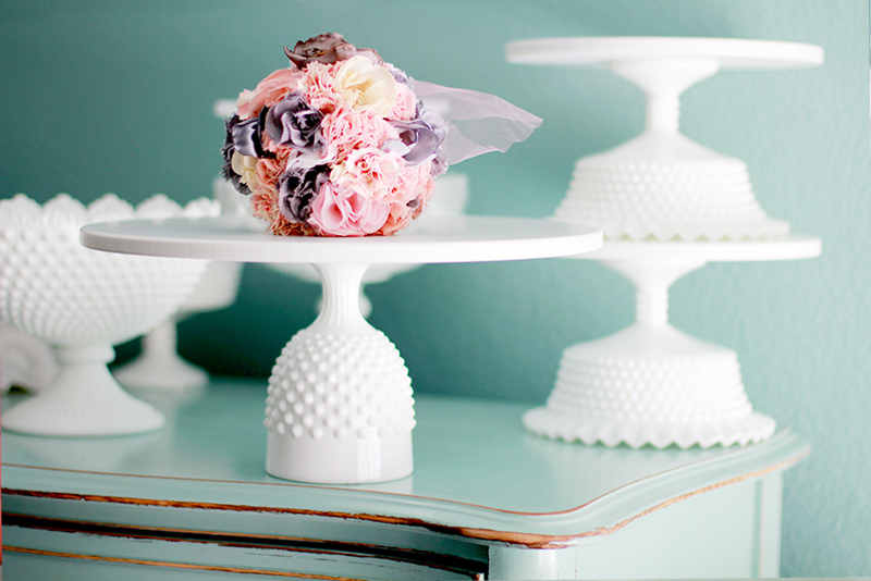 The Roche Studio Hobnail Cake Stand