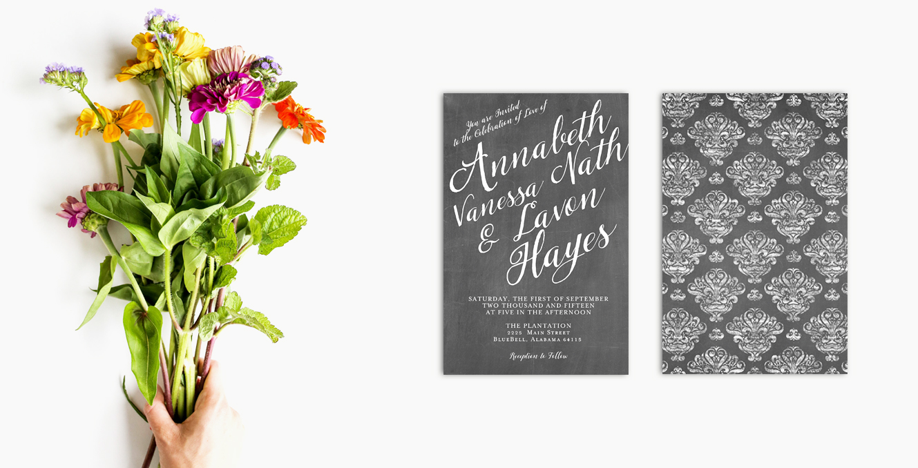 Shop Wedding Invitations: The Roche Shop -Invitations, Save The Date Cards, Mason Jars