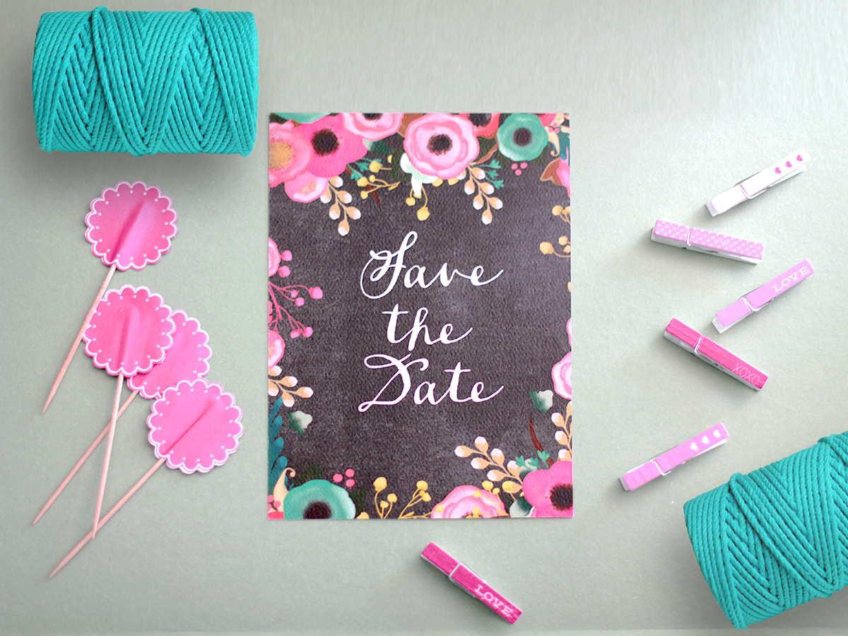 The Phoebe Save The Date Cards