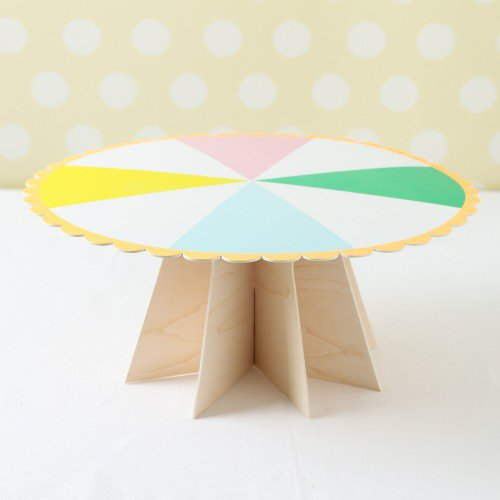 party supplies- paper cake stands