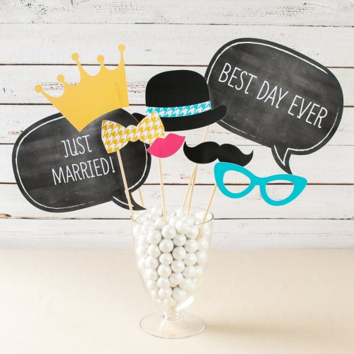 party supplies- photo booth props