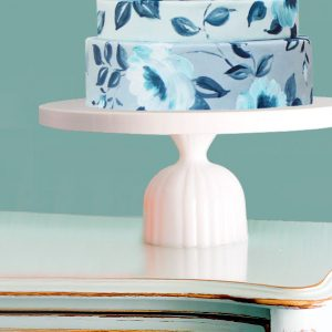 THE ATLANTA - Ribbed cake stand