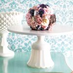 The Providence - Scallop fan cake stand in 8