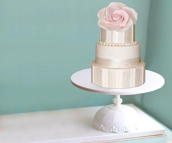 The Santa Maria - Scallop cake stand in 14