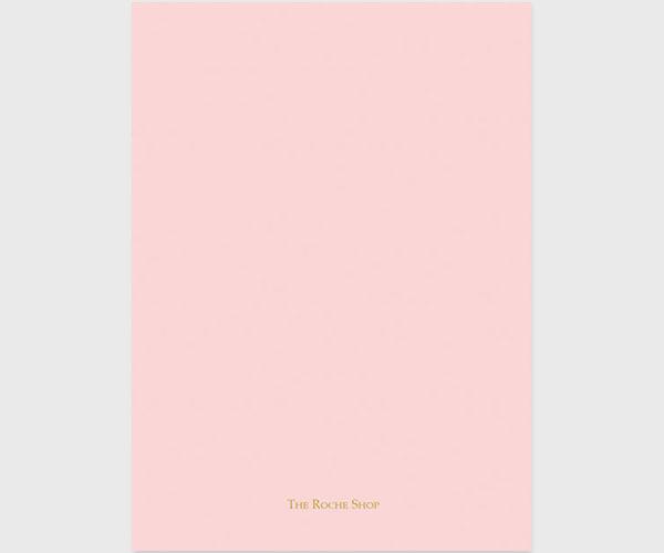 Blush & Gold Confetti Cards
