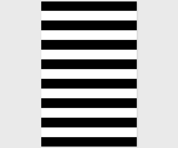 Black & white stripes Wedding Invitations