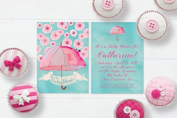 THE ROCHE SHOP - Baby Shower Invitations