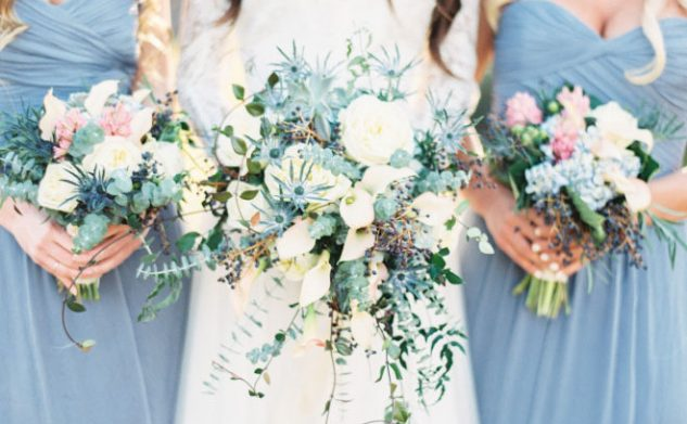 Niagara Blue, Rose Quartz and Blush Weddings