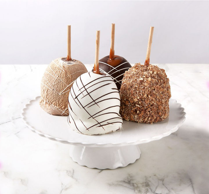 Dean and Deluca caramel apples
