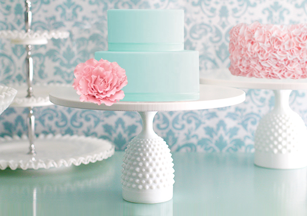handcrafted cake stands