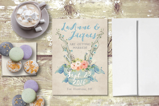 The Roche Shop Bridal shower Invitations