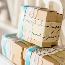 vintage inspired party favors