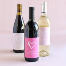 wine themed party favors