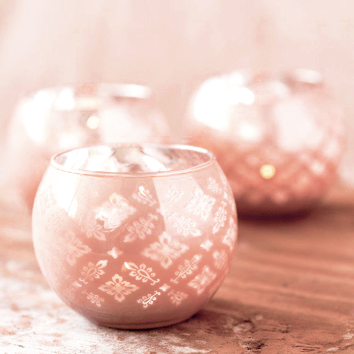 party decorations- candle hodlers or votive holders