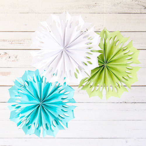 party decorations- party pinwheels