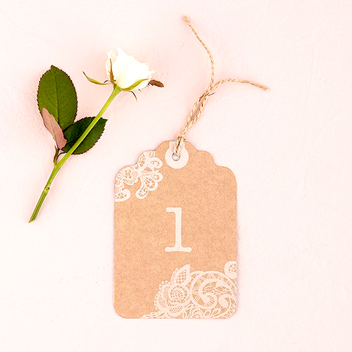 party decorations- table numbers