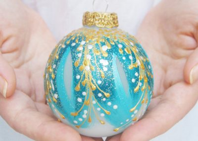 etsy gift guide - handcrafted ball ornament