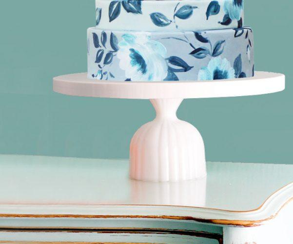 THE ATLANTA - Ribbed cake stand