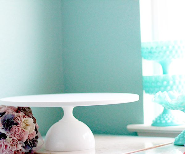 The MADISON – Modern cake stand in 8″ 10″ 12″ 14″