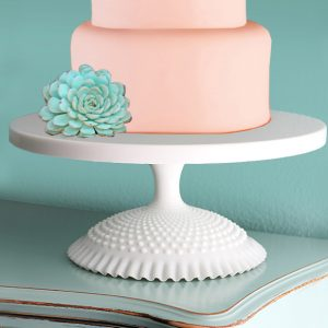 "THE QUEENS 18"" CAKE STAND PEDESTAL"