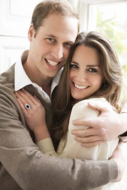PRINCE WILLIAM and KATE MIDDLETON OFFICIAL ENGAGEMENT-