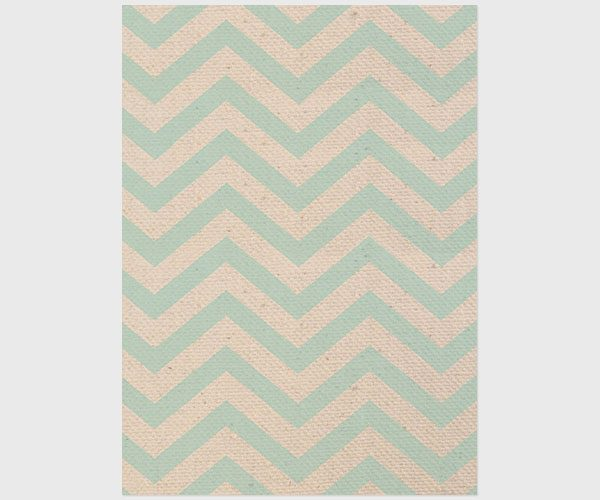 robin egg blue chevron and burlap save the date cards