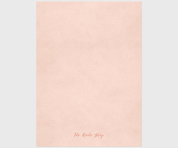 Rustic chic peach save the dates