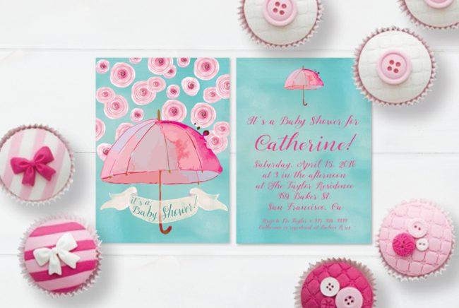 THE ROCHE SHOP - Baby Shower Invitations