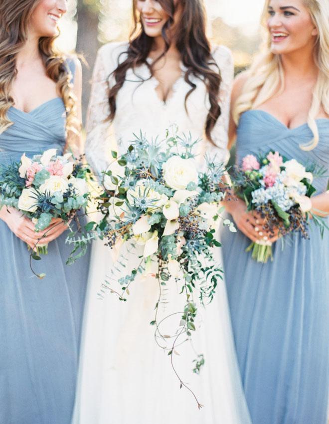 Niagara Blue, Rose Quartz and Blush Weddings