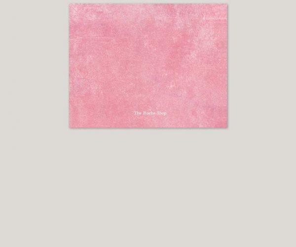 Vintage-inspired pink wedding invitations