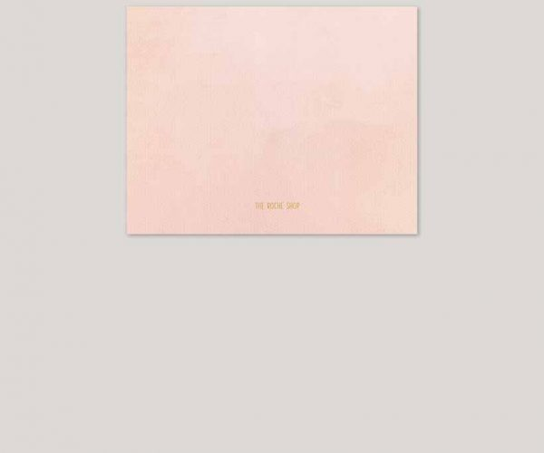 The Catherine - Blush & gold watercolor wedding invitations