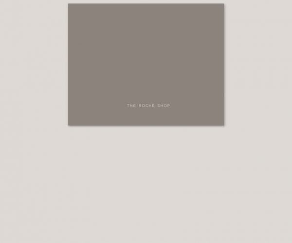 THE SANDY - Grey monogram wedding invitations