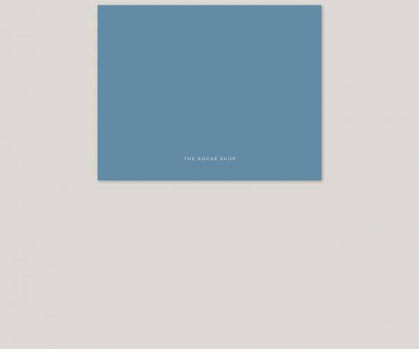 Niagara blue wedding invitations
