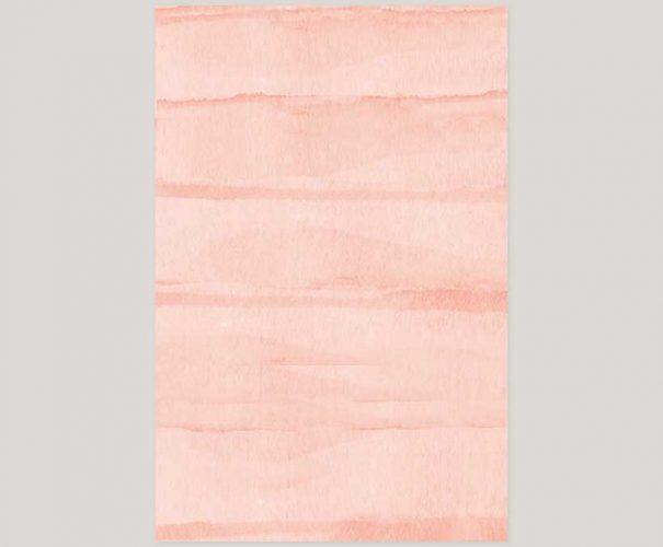 THE JESS - Watercolor brush blush wedding invitations