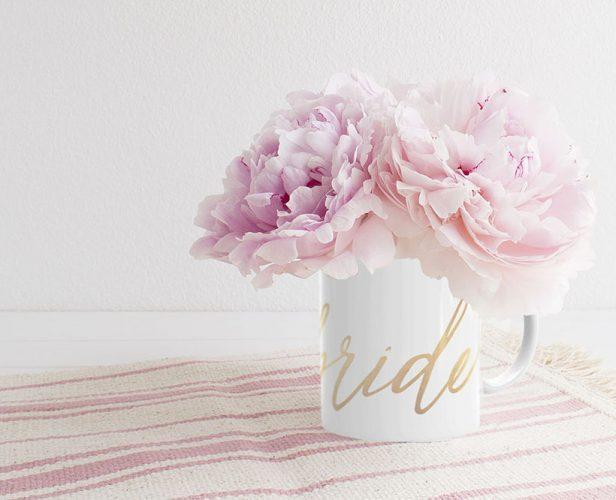 Bride Calligraphy Mug