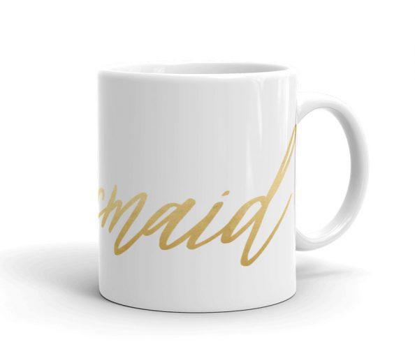 Bridesmaid Calligraphy Mug