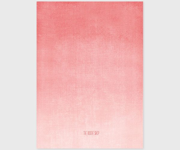 Coral Pink Watercolor Ombre Invitations