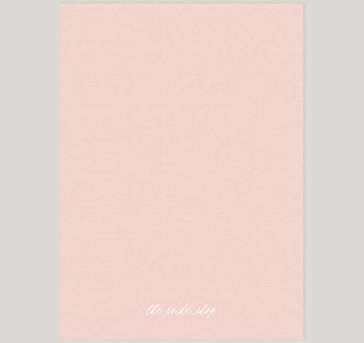 Blush Calligraphy Engagement Party Invitations