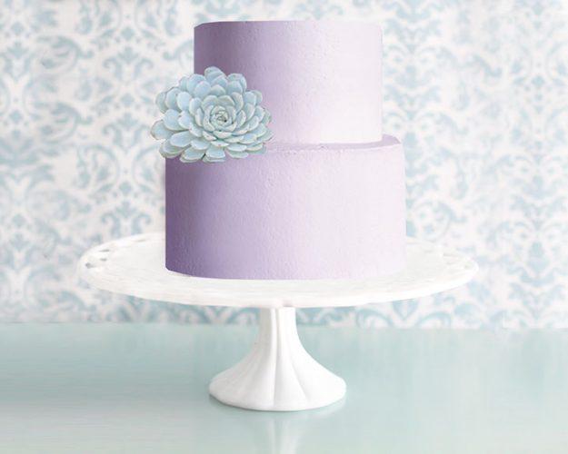 Lattice Milk Glass Cake Stand