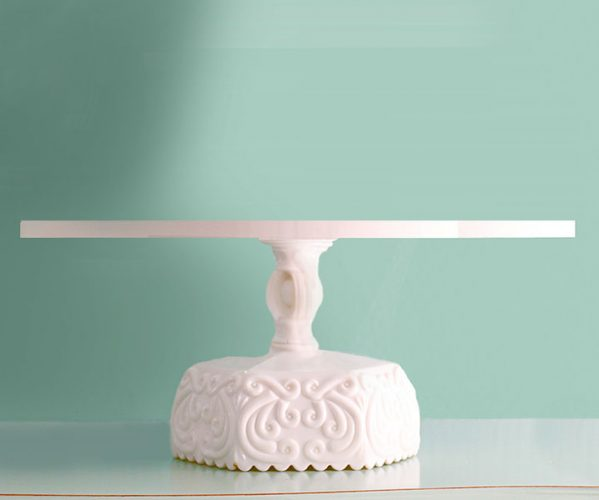 Ornate Scroll cake stand