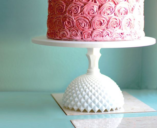 Large Diamond cake stand
