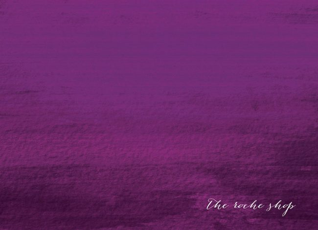THE KATERINA Calligraphy on purple ombre save the date cards