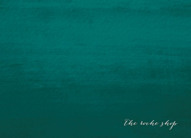 THE KATERINA Calligraphy on teal ombre save the date cards