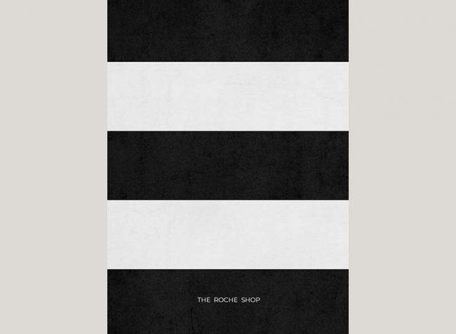 black & white stripes invitations