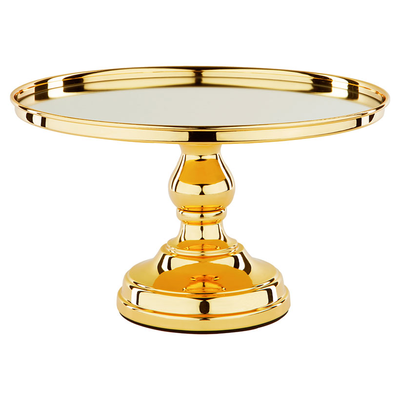 The Tramonti Metallic Gold Cake Stand The Roche Shop
