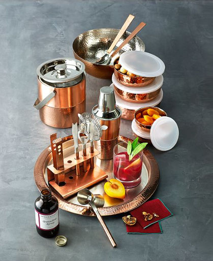 godinger copper set