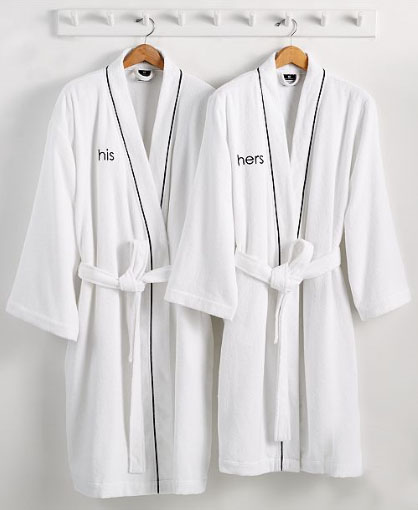 his and hers robes