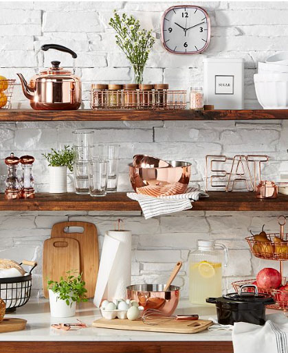 martha stewart copper collection